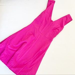 3 for $25 Gianni Bono Neon Pink Flare Dress